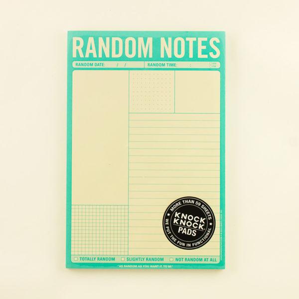 Bloc Random Notes