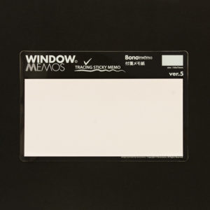 Window Memos nº5